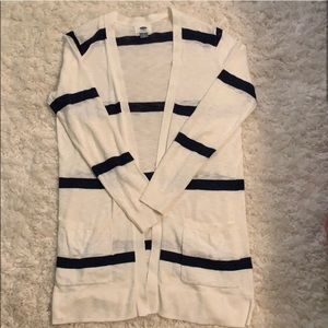 Old Navy Small Striped Cardigan